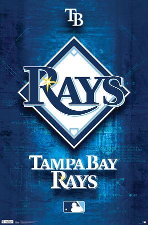 Tampa Bay Rays- Blueprint Logo