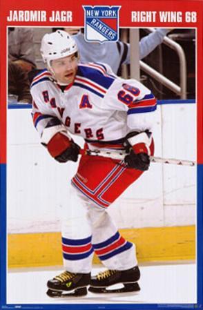Jaromir Jagr New York Rangers Hockey