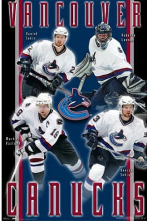 Vancouver Canucks (Daniel Sedin, Roberto Luongo, Henrik Sedin, Markus Naslund)