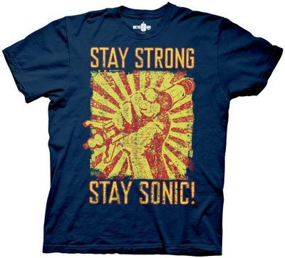 Doctor Who - Stay Strong Stay Sonic