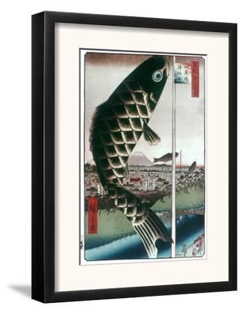 Hiroshige: Kites, 1857
