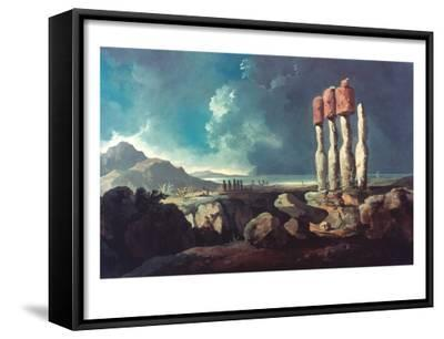 Cook: Easter Island, 1774