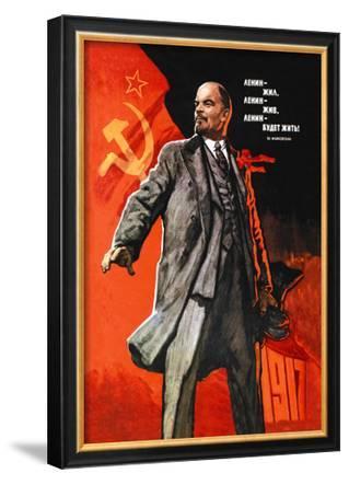 Lenin Lived, Lenin is Alive, Lenin Will Live