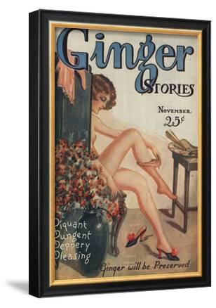 Ginger Stories, Erotica Pulp Fiction Magazine, USA, 1927