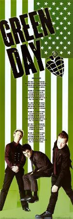 Green Day American Idiot Green Door Music Poster Print
