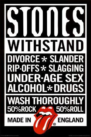 Rolling Stones Declaration Music Poster Print