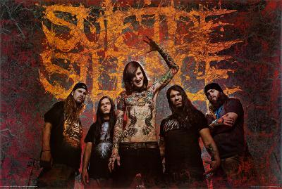 Suicide Silence (Group) Music Poster Print