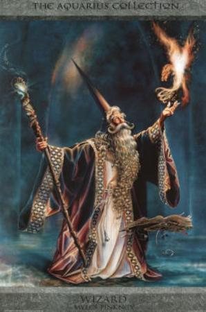 Myles Pinkney Wizard Art Print Poster