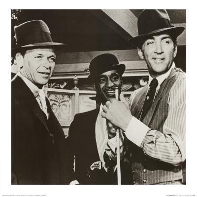 The Rat Pack Frank Sinatra Sammy Davis Jr Dean Martin
