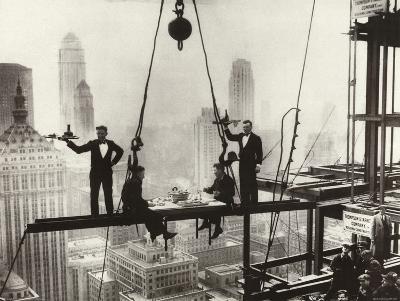 New York City Men on Girder High Life Lunch Above Manhattan