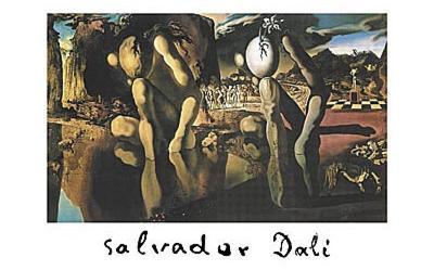 Salvador Dali (Metamorphosis of Narcissus, Huge) Art Poster Print