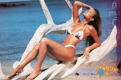 Swimsuit Pin-Up, Girls of Hawaiian Tropic, Lola, Photo Print Poster
