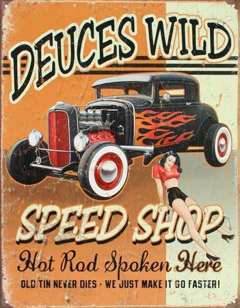 Deuces Wild Speed Shop Hot Rod