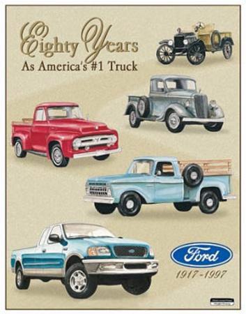 Ford Pickup Trucks 80 Year 1917-1997 Tribute