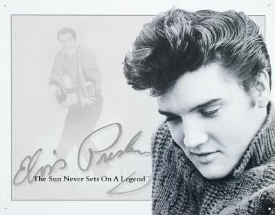 Elvis Presley Sun Never Sets on a Legend