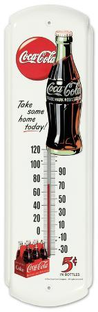Coca Cola Take Some Home Indoor/Outdoor Thermometer