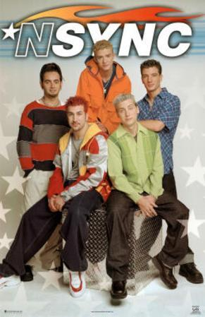 N Sync Group 2 Music Poster