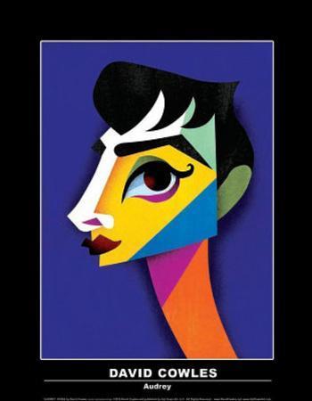 David Cowles (Audrey) Art Poster Print