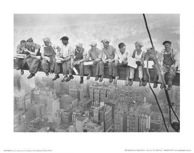 John C Ebbets Lunch Atop A Skyscraper Photo Art Print Poster