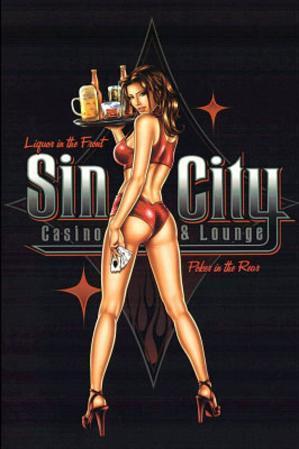 Sin City (Casino & Lounge) Art Poster Print