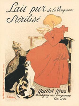 Theophile Steinlen (Lait Pur Sterilise) Art Poster Print