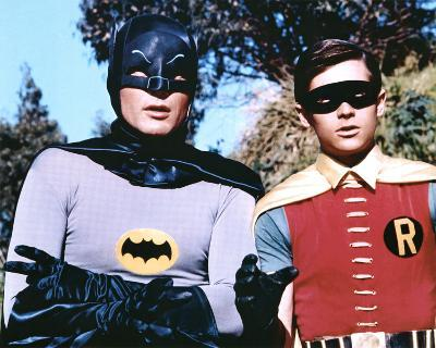 The Dynamic Duo Batman and Robin TV Poster Print