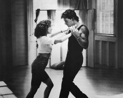 Dirty Dancing 80s Movie (Warm Up) Glossy Photo Photograph Print