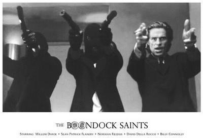 The Boondock Saints Movie (Cast) Glossy Photograph Photo Print