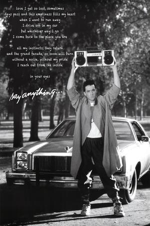Say Anything, John Cusack