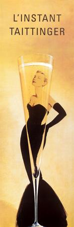L'Instant Taittinger (Grace Kelly Champagne Ad)