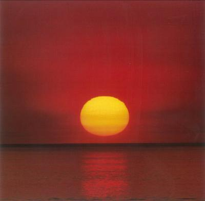 Red Sunset Greeting Cards 12 Per Package