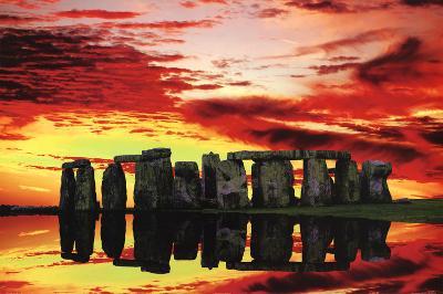Jim Zuckerman Stonehenge Reflections Art Print Poster