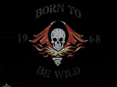 Steppenwolf (Born to be Wild Lyrics) Music Poster Print