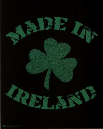 Made in Ireland (Lyrics to Danny Boy) Art Poster Print