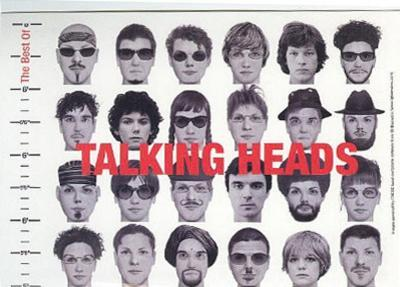 The Best Of Talking Heads (Album) Music Postcard
