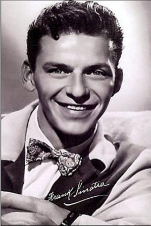 Frank Sinatra (Autograph Print) Music Postcard