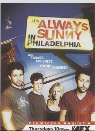 It's Always Sunny In Philadelphia (Group) Lobbycard TV Postcard Print