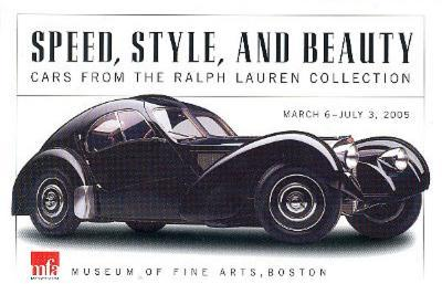 1938 Bugatti Type 57SC Atlantic Coupe POSTCARD Car