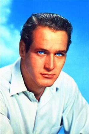 Paul Newman (Celebrity) Movie Postcard