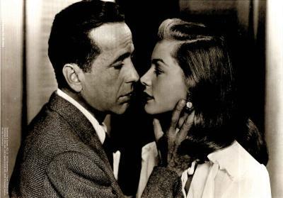 Big Sleep Movie (Humphyey Bogart and Lauren Bacall) Poster Print