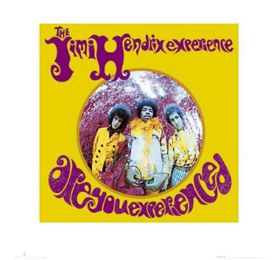 Jimi Hendrix (Are You Experienced) Music Poster Print