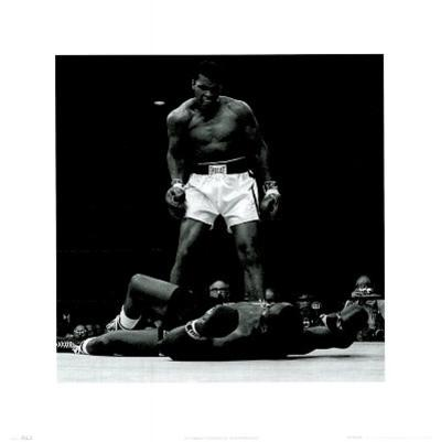 Muhammad Ali (Vs. Sonny Liston, No Text) Sports Poster Print