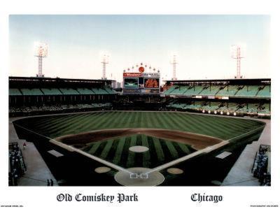 Ira Rosen Chicago White Sox Old Comiskey Park Sports Poster Print