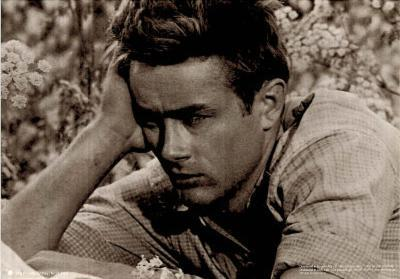 James Dean Close Up Movie Poster Print