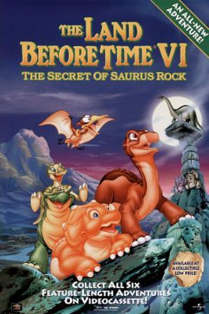The Land Before Time VI: The Secret of Saurus Rock Movie Group Original Poster Print