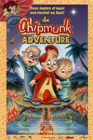 The Chipmunk Adventure Movie Chipmunks Original Poster Print