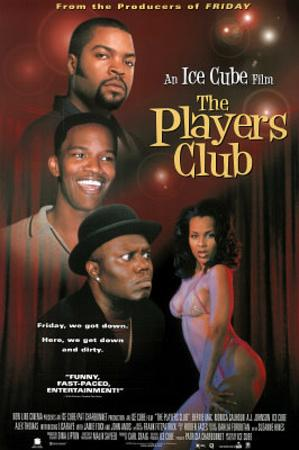 The Players Club Movie Bernie Mac Monica Calhoun Jamie Foxx Ice Cube Original Poster Print