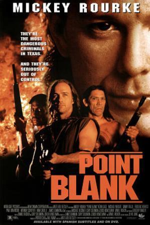 Point Blank Movie Mickey Rourke Original Poster Print