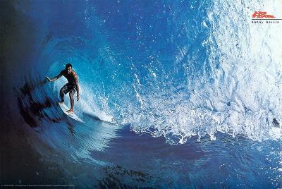 Sunny Garcia No Fear Surfer Sports Poster Print