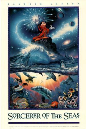 Chris Lassen (Sorcerer of the Seas) Art Poster Print